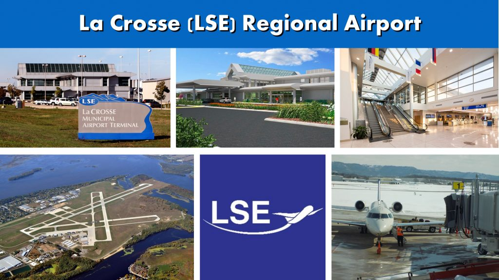 La Crosse WI (LSE) Regional Airport Serving the La Crosse Wisconsin Area - Airport Terminal Images