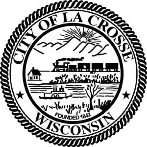 La Crosse Wisconsin City Logo Image