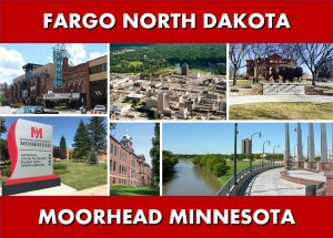 Transportaion Services - Fargo ND and Moorhead MN to Minneapolis MN Photo Montage Website Page Banner