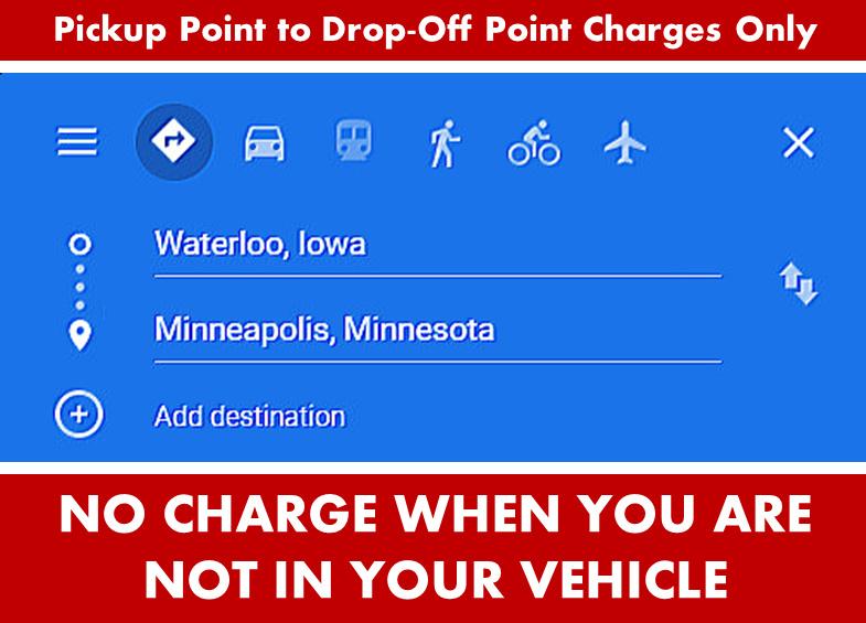 Waterloo IA to Minneapolis MN Google Maps Directions Search Image