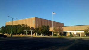 Watertown SD High School Building in South Dakota