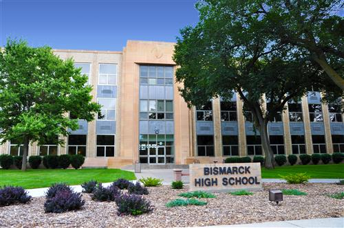Bismarck High School Building - Bismarck ND