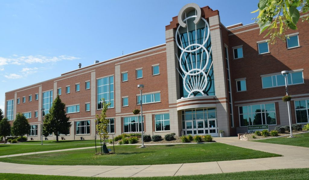 Bismarck State College Main Building - Front Exterior Photo