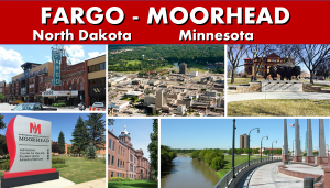 Transportation Services - Moorhead MN to Minneapolis MN Photo Montage Website Page Banner