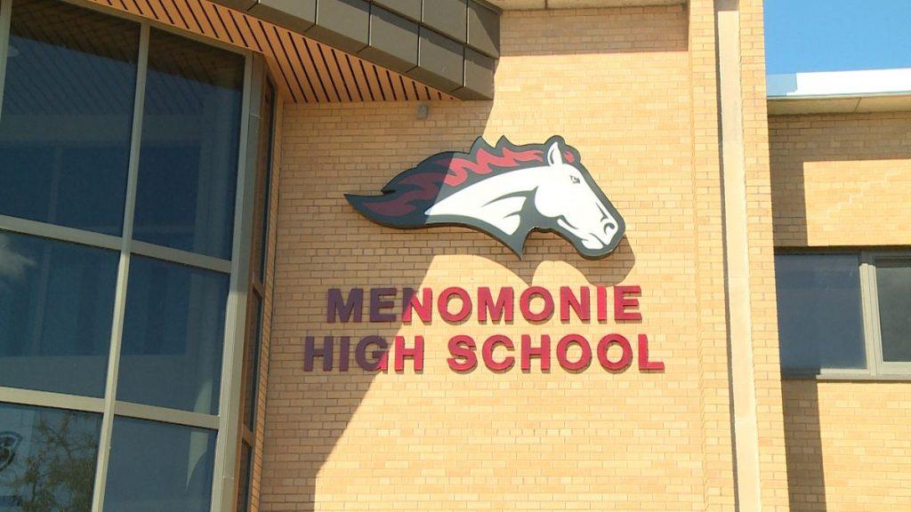 Menomonie High School Building Image - Menomonie Wisconsin