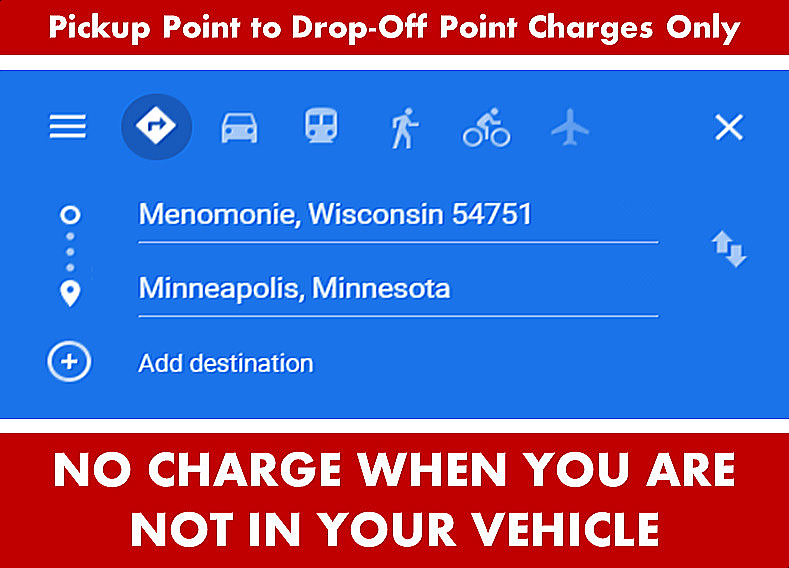 Menomonie WI to-from Minneapolis Google Map Directions Search Image