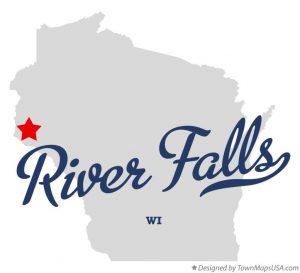 River Falls WI Wisconsin - City Logo Image