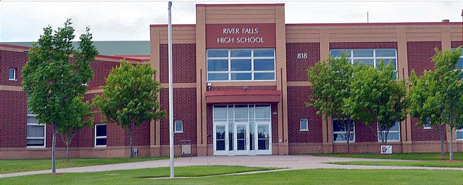 River Falls WI Wisconsin High School Building Photo