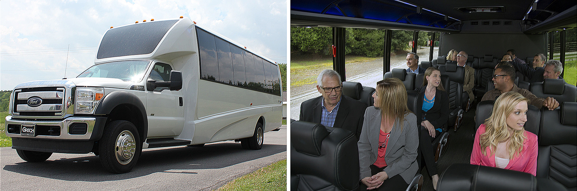 Best Twin Cities Minneapolis Executive Luxury Shuttle Bus Services - Private Group Transportation Services Photos - Minneapolis St Paul - Twin Cities Area - Aspen Limo and Car Services - Private Shuttle Bus Vehicles Photos